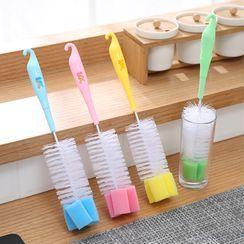 SunShine - Kitchen Cleaning Brush with Sponge