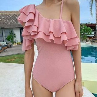 DJ Design - Ruffle Trim Swimsuit