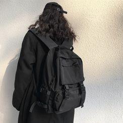 KINGI - Buckled Nylon Backpack