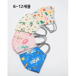 Miss21 Korea - KIDs Pattern Fabric Mask