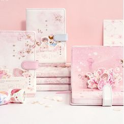 Padeen - Sakura Print Medium Notebook