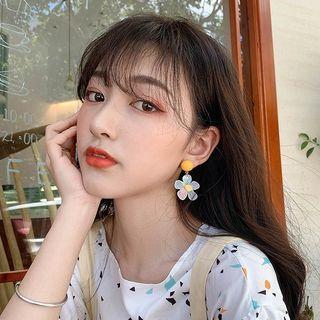 Show Mind - Resin Flower Dangle Earring