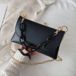JAMEL - Acrylic Chain Strap Crossbody Bag