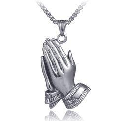 Prushia - Pray Necklace