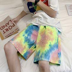 Fesarius - Tie-Dye Beach Shorts