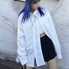 LINSI - 侧开衩衬衫