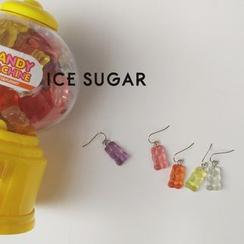 ICE SUGAR - Gummy Bear Drop Earrings