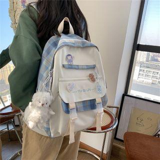 Gokk(ゴック) - Plaid Lightweight Backpack