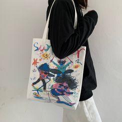 Basaran - 印花帆布手提袋
