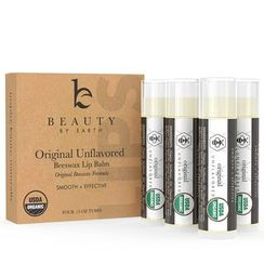 Beauty by Earth - Organic Unflavored Beeswax Lip Balm