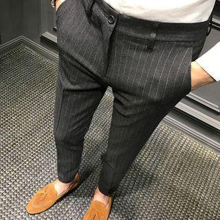 DuckleBeam - Striped Dress Pants