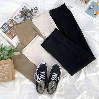 CaraMelody - 纯色西裤