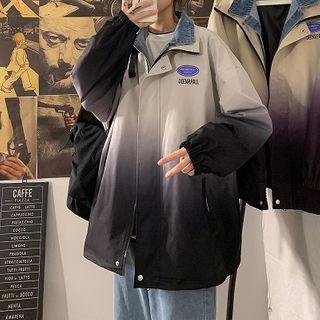 FOEV - Mock Two-Piece Zip Jacket