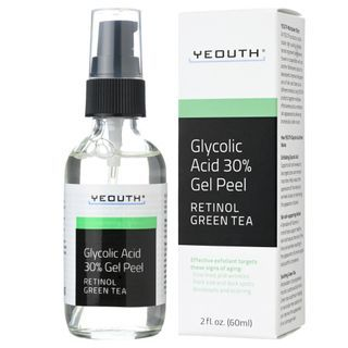 YEOUTH - 30% Glycolic Acid Peel with Retinol, Green Tea