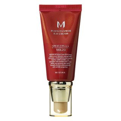 MISSHA 謎尚 - M Perfect Cover BB Cream SPF42 PA+++ (#23 Natural Beige) 50ml