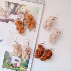 Hello minto - Teddy Bear Dangle Earrings