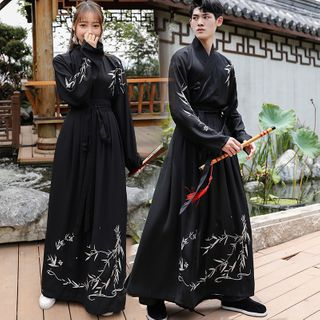 Pinocle - Couple Matching Embroidered Traditional Chinese Costume