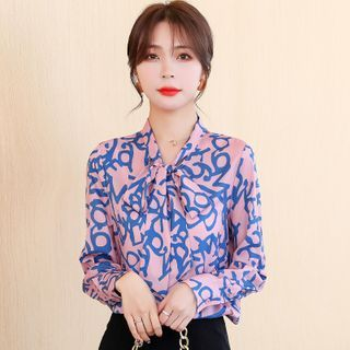 Dragan Pulse - All Over Print Blouse