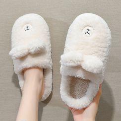 Ishanti - Bear Ear Fluffy Slippers / Rabbit Ear Fluffy Slippers