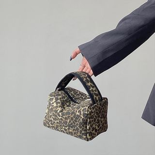 NiniChloe - Mini Leopard Print Handbag