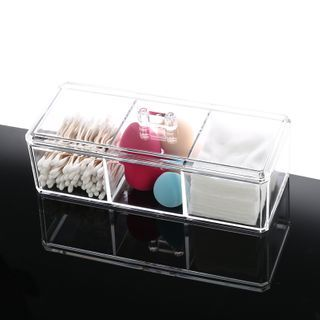 Alfheim - Transparent Plastic Makeup Storage Box