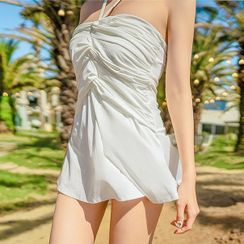 biliballa - Halter Swim Dress