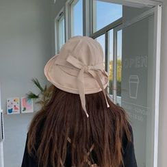 TESS(テス) - Bow-accent Bucket Hat