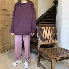 Moon City - Oversize Pullover / Straight-Fit Pants