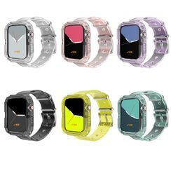 Phone in the Shell - Transparent Apple Watch Band