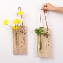 Foresty(フォレスティ) - Wooden Hanging Decoration
