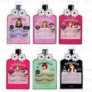 Koji - Dolly Wink Eyelash 2 pairs - 21 Types