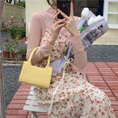 Masen - Faux Leather Handbag