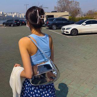 LIPHOP - Flap Patent Shoulder Bag