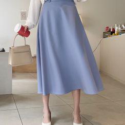Cherryville - A-Line Maxi Skirt