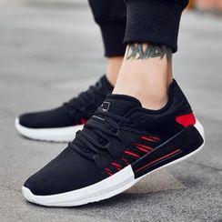 MARTUCCI - Contrast Trim Sneakers
