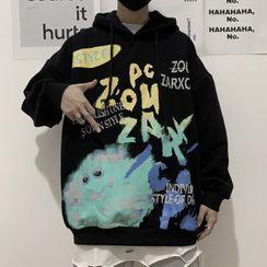 Shineon Studio - Printed Hoodie