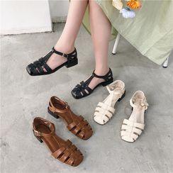 Pashel - Buckled Roman Sandals