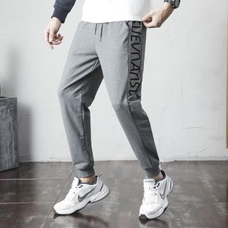 Sheck - Letter Sweatpants