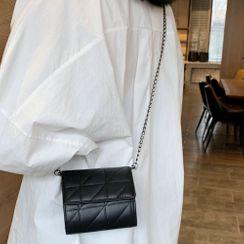 Faneur - Flap Chain Strap Crossbody Bag
