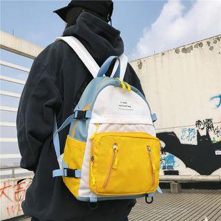 Carryme - Color Block Lightweight Backpack