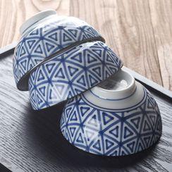 Cocotte - Printed Ceramic Bowl