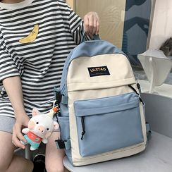 HOVERUP - Two-Tone Nylon Backpack