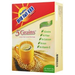 Three O'Clock - Ovaltine 5 Grains Instant Malt Cereal Beverage 28g x8