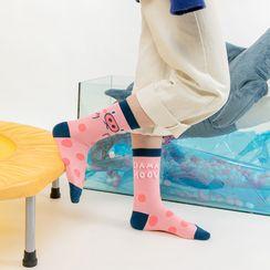 Saysmith - 图案袜子