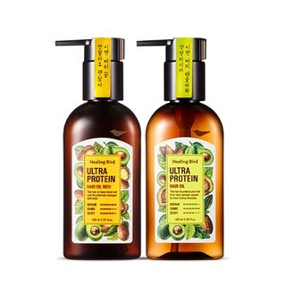 Healing Bird - Ultra Protein Hair Oil - 2 Types