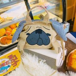 Yunikon - Dog Canvas Crossbody Bag