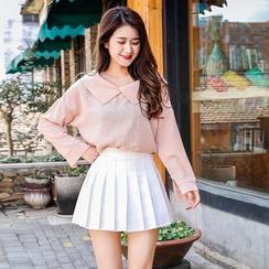 Niji Smile - Mini jupe plissée
