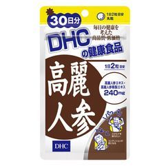 DHC Health & Supplement - Korean Ginseng Tablets