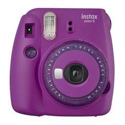Fujifilm - Fujifilm Instax Mini 9 Instant Camera (Clear Purple) (Limited Edition)