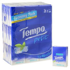 Tempo - Tempo Petit Pocket Tissue (Icy Menthol, 36packs)